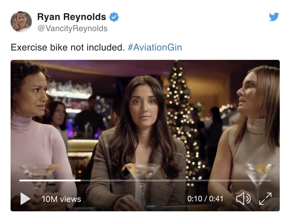 Peloton Aviation Gin Ad