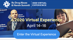 Rx Summit Virtual Experience homepage