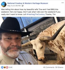 Cowboy Museum Social Media Post